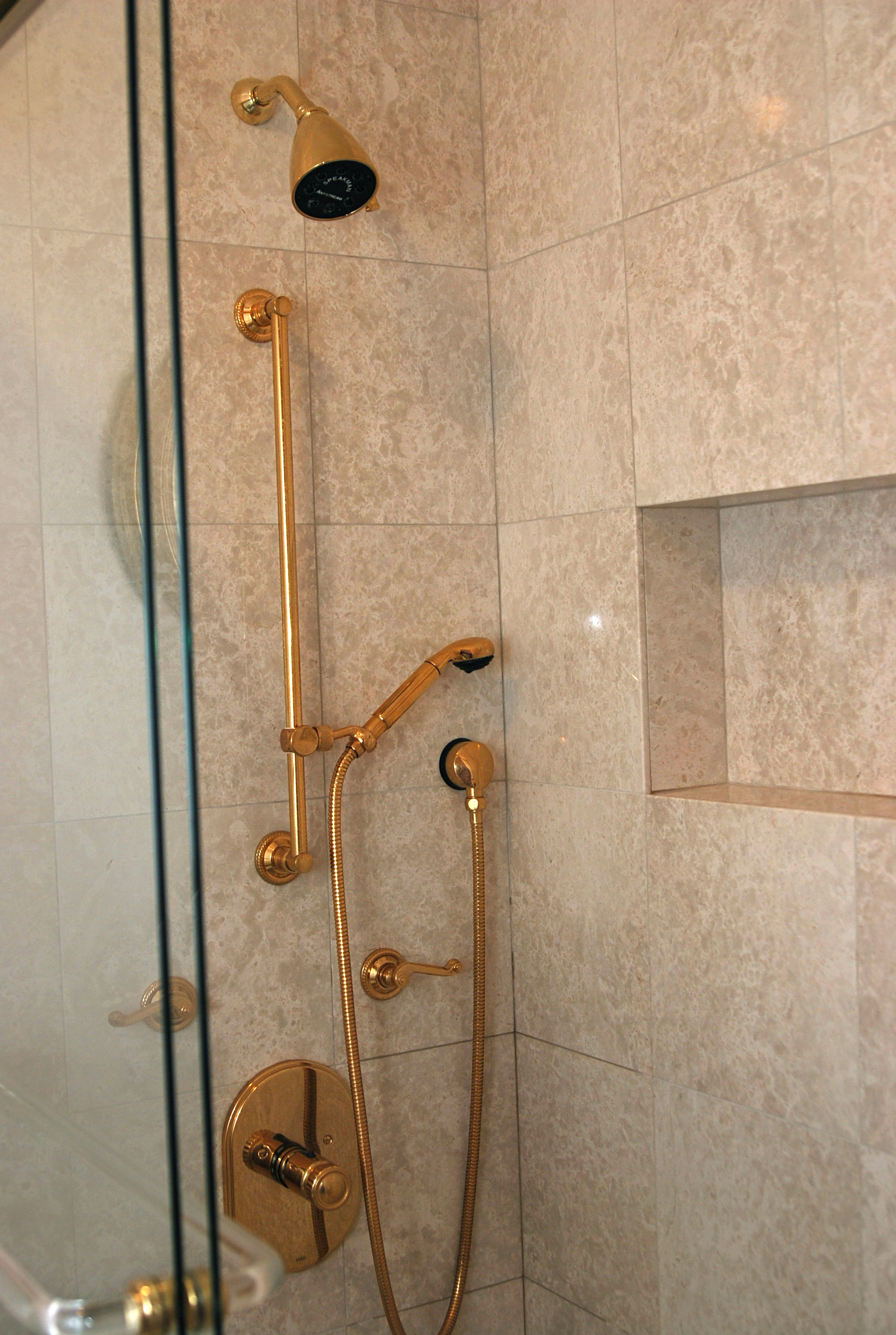 Mill Valley Master Bath Shower | Hoechstetter Interiors