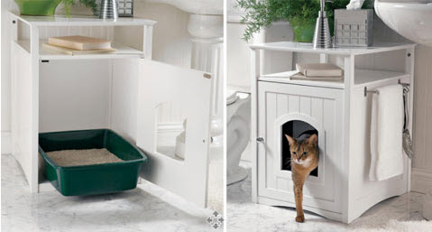 dog proof litter box furniture